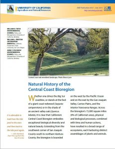 Natural History of the Central Coast Bioregion cover